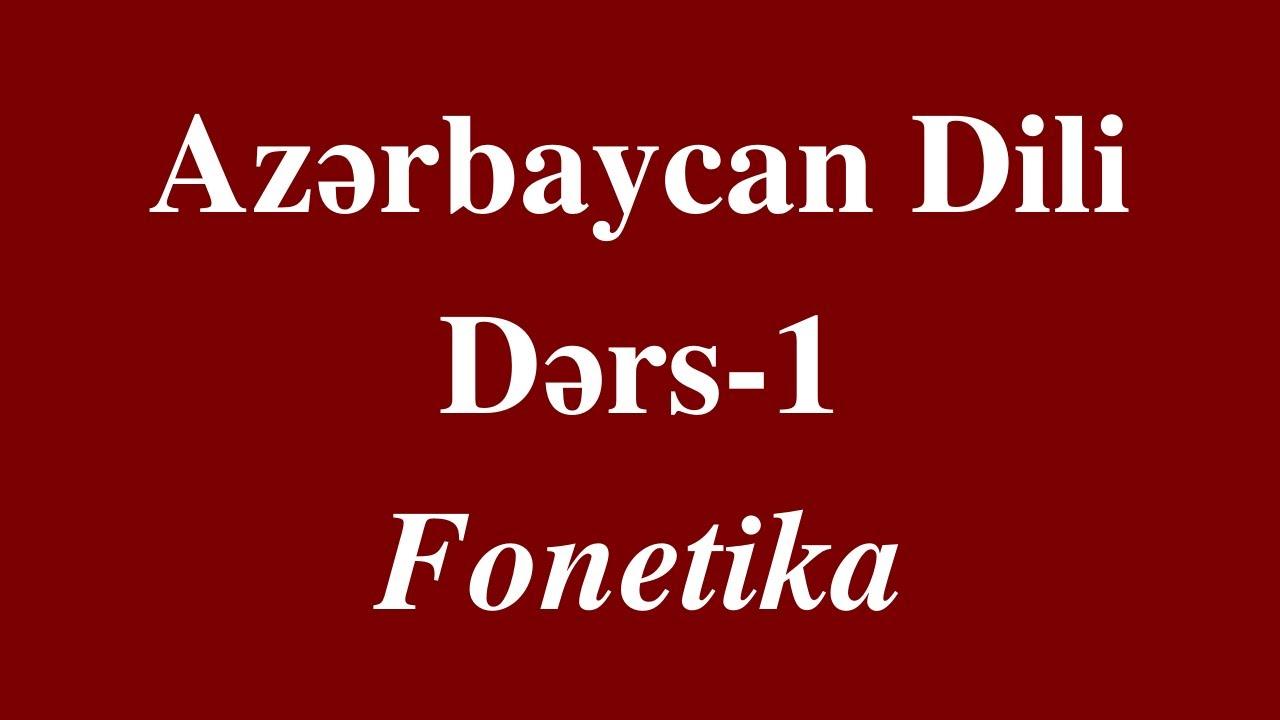 Qayda kitabı. Güven. Azərbaycan dili. Fonetika.Leksikologiya