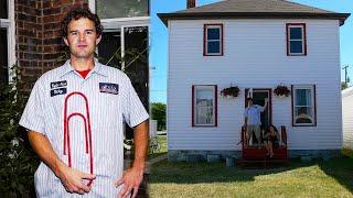Парень обменял обычную канцелярскую скрепку на двухэтажный дом