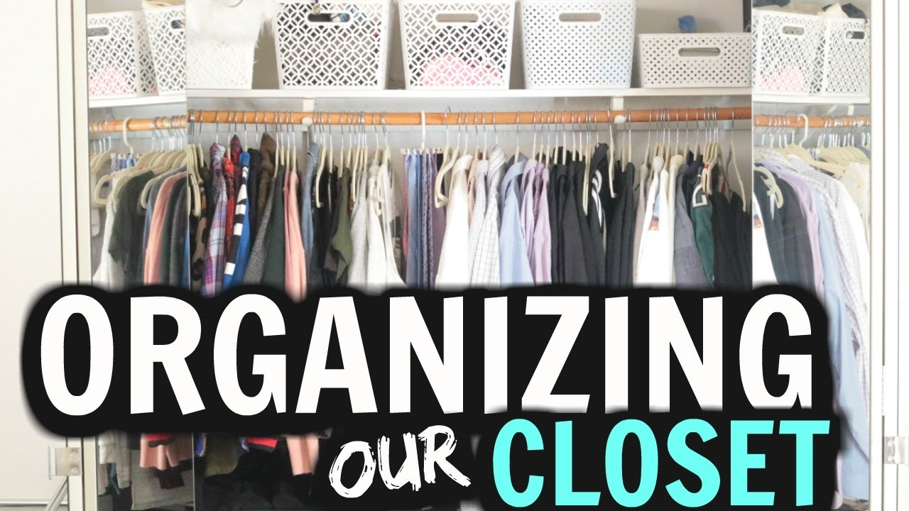 Organizing My Basic Apartment Closet His Hers