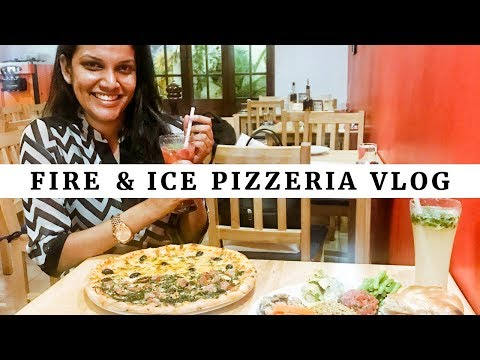 Fire & Ice Pizzeria | Things To Do In Colombo Sri Lanka