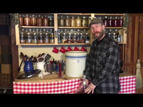 Wild Fermented Elderberry Wine Part 3