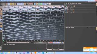 Cinema4D Tutorial - Wire Mesh from Models