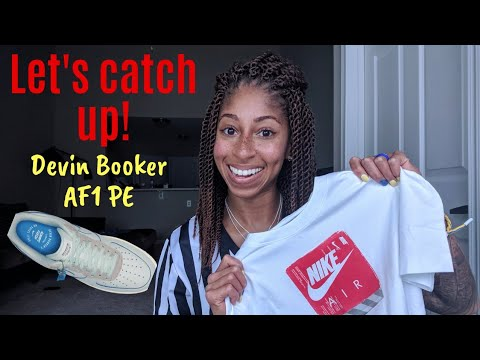 Catching Up! Recap of Working Kids Footlocker Today + Devin Booker Nike Air Force 1 PE