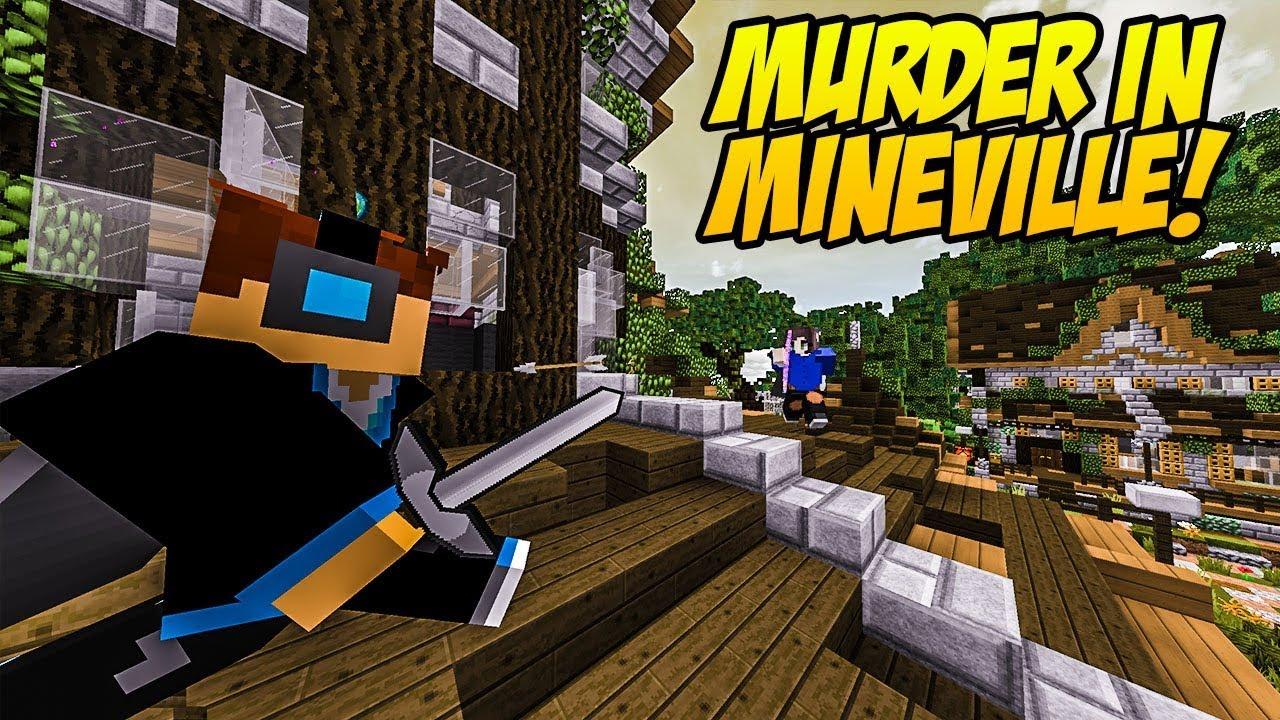 MINECRAFT MURDER IN MINEVILLE #01 | Vertez