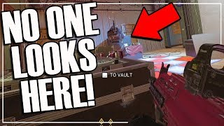 Solo To Champion: The Dumbest Hiding Spot That Worked - Rainbow Six Siege