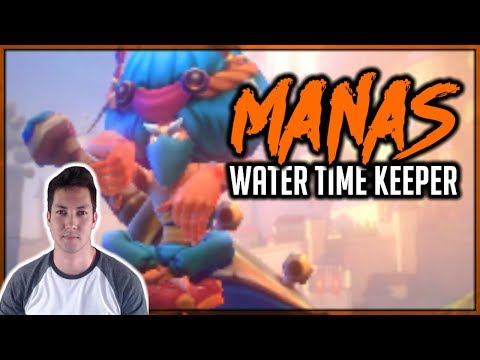 HOW TO BUILD MANAS (Water Time Keeper) | *MUST BUILD* | Dungeon Hunter Champions