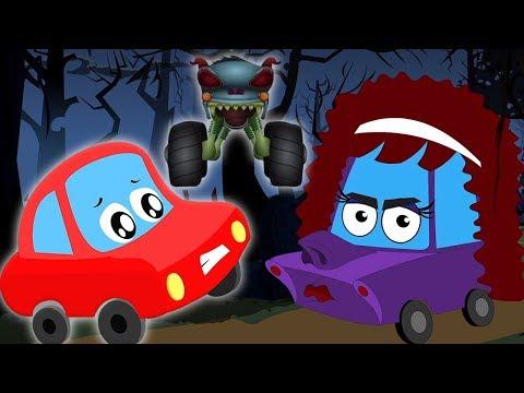 Хэллоуин вернулся | песня для детей | Halloween Is Back | Little Red Car Russia