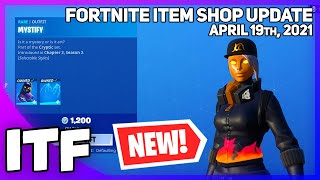 Fortnite Item Shop *NEW* CRYPTIC EDIT STYLES! 🔥 [April 19th, 2021] (Fortnite Battle Royale)