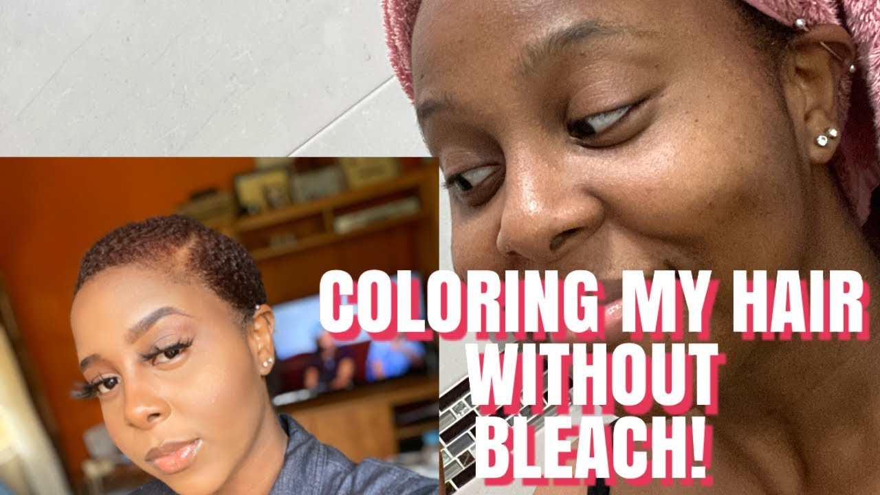 DYEING MY HAIR (4C) RED COPPER (WITHOUT BLEACH!) | CREME ...