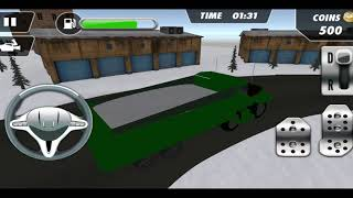Snow Heavy Excavator Simulator / Android Game / Game Rock