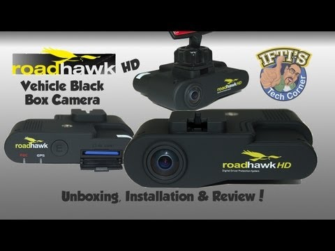 RoadHawk HD - Vehicle Black Box Camera Unit - Full Review