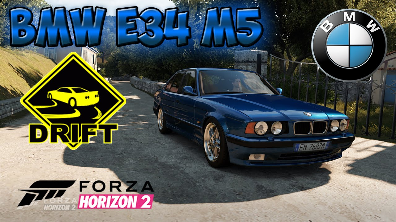 Forza Horizon 2 Drift Bmw E34 M5 1995 Youtube