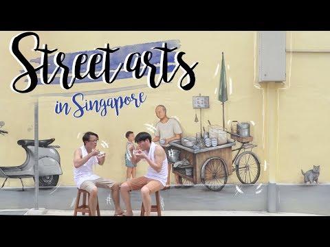 Street Arts in Singapore: 5 สตรีทอาร์ทสุดงามแห่งสิงคโปร์