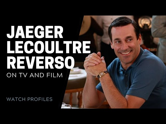 Jaeger LeCoultre Reverso on TV and Movies - Mad Men, Batman & More | SwissWatchExpo
