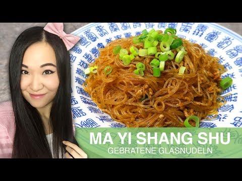 REZEPT: Ma Yi Shang Shu | chinesische gebratene Glasnudeln mit Hackfleisch