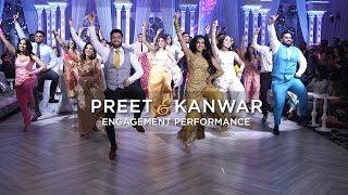 Preet & Kanwar | Epic Engagement Performance thumbnail