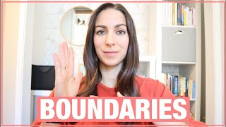 HOW TO CREATE WORK-LIFE BOUNDARIES AND STOP PLEASING OTHER PEOPLE for success at work