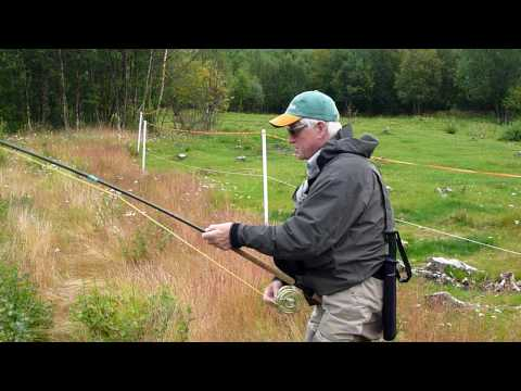 48lbs salmon on the Lakselva, Norway, August 09 with Roxtons.