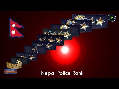 Nepal Police Rank HD। नेपाल प्रहरीको दर्जा ।