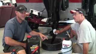 Changing gear lube on Mercury Verado and Pro Kicker