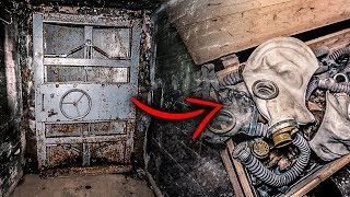 Russian Underground Tunnel With Gasmasks for Leaders Found In Estonia