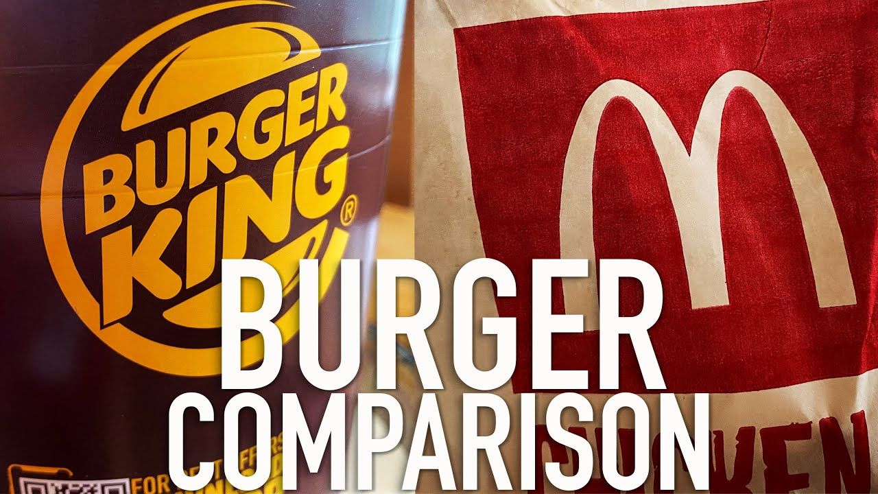 Mc Donald's v/s Burger King