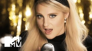 Who's Meghan Trainor Locking Lips With In Her First Onscreen Kiss? | MTV News