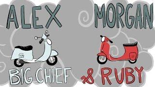 Alex Morgan: Big Chief & Ruby | WNT Animated, Presented by Ritz
