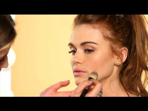 Holland Roden France Makeup Tips Red Lips
