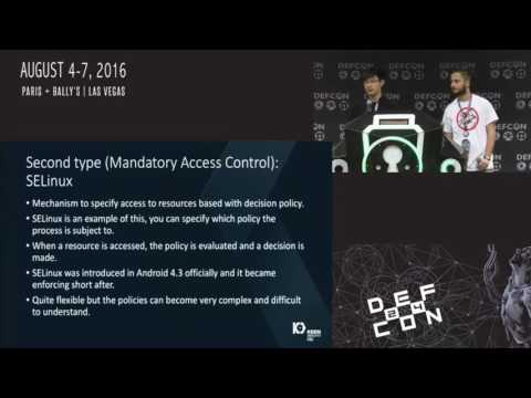 DEF CON 24 - Escaping The Sandbox By Not Breaking It
