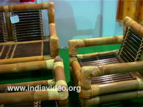 Bamboo furniture from North East India