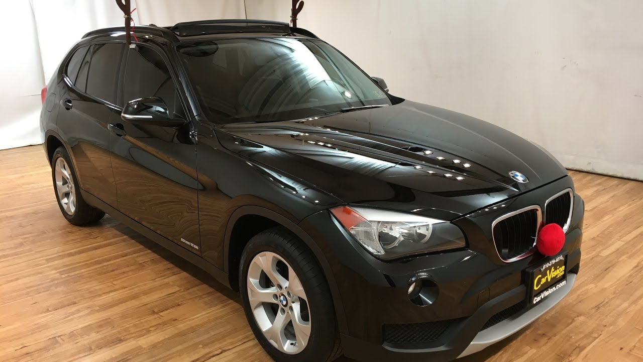 2014 bmw x1 sdrive28i pano sunroof carvision youtube. Black Bedroom Furniture Sets. Home Design Ideas