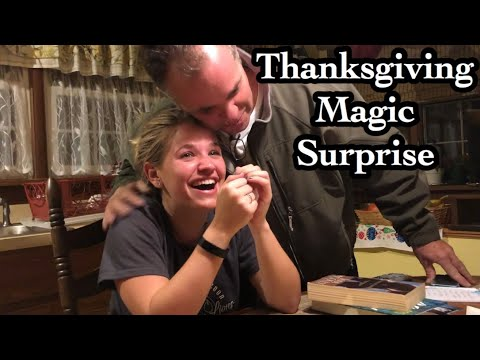 Mix Morning Show! - Thanksgiving Magic Surprise