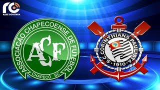 Chapecoense x Corinthians   AO VIVO   Copa do Brasil