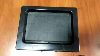 видео Купить Моторамка ( рамка ) VS для номера Черепа 1 штука черная (4401958)