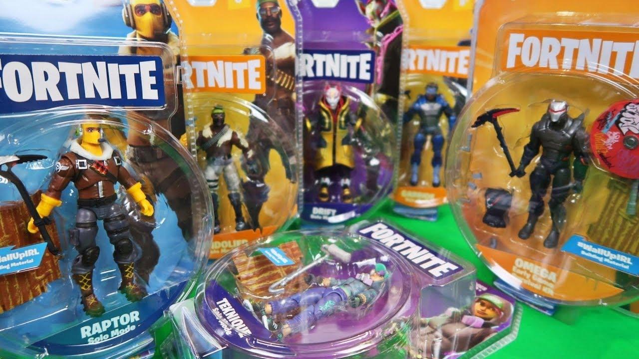Fortnite Action Figures Raptor Omega Carbide Teknique