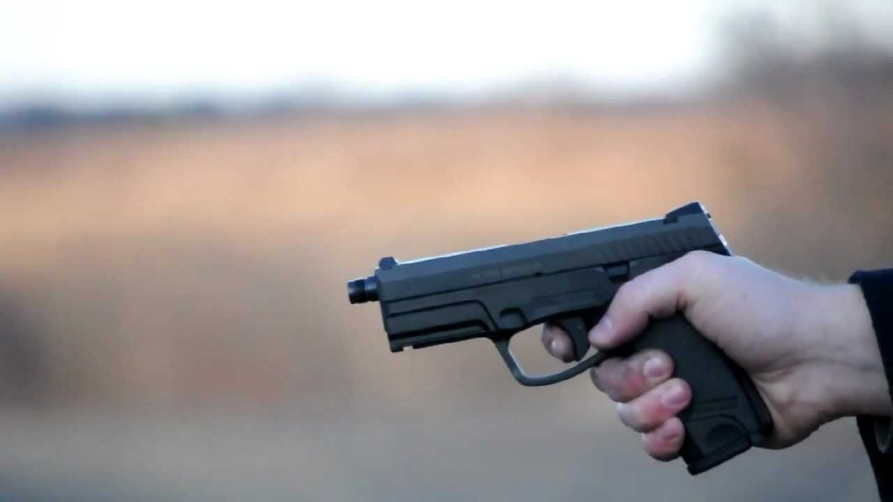 Shooting the Steyr M9-A1 9mm pistol