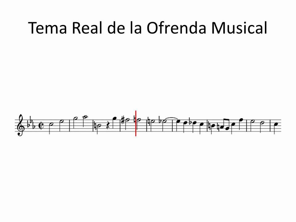 Tema Real De La Ofrenda Musical De Bach En Roland Gaia Sh 01 Youtube