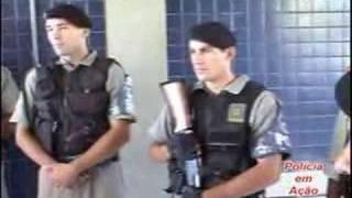 Polícia em Ação invade a zona norte de Porto alegre