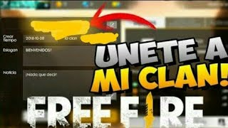 Clan Competitivo Free Fire - Clan ALGUACIL | MH773 FF