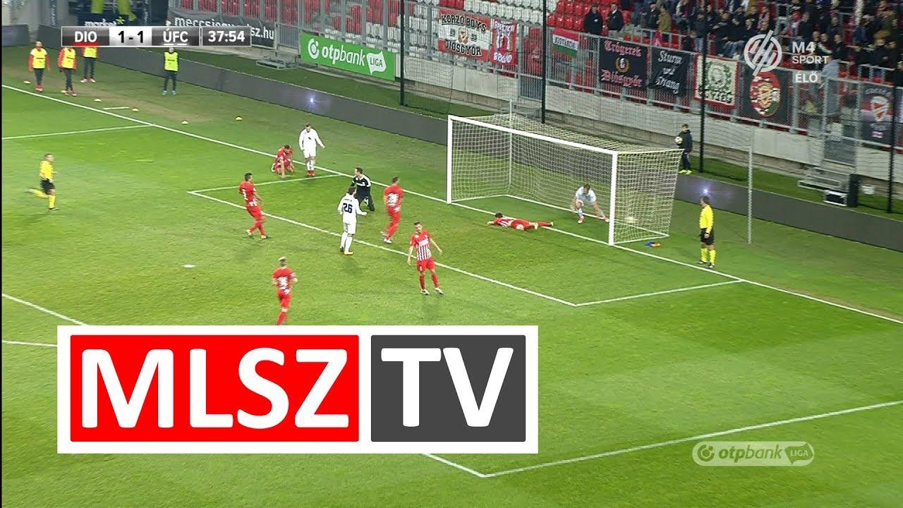 Novothny Soma Zsombor duplázása a DVTK - Újpest FC mérkőzésen