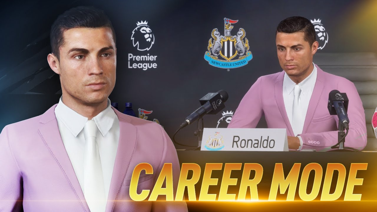 Cristiano Ronaldo Fifa 20 Career Mode 1 Youtube