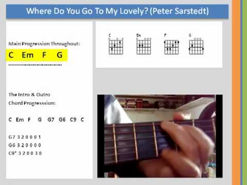 Learn Chords - Where do you go to my lovely (Peter Sarstedt) - YouTube