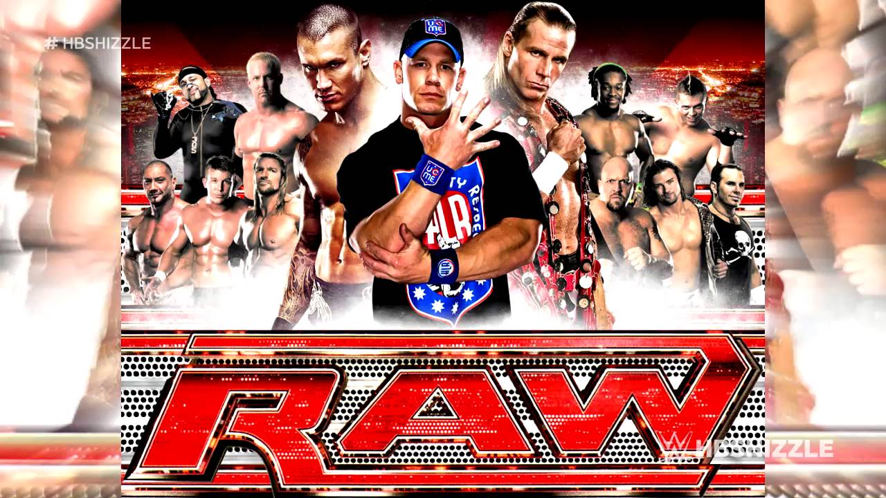 2006 2009 wwe monday night raw 8th theme song to be - Monday night raw images ...
