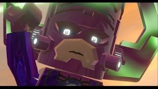 LEGO Marvel Super Heroes Walkthrough Finale - Final Boss + Ending and Credits (Galactus Boss Fight)