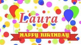 Happy Birthday Laura Song