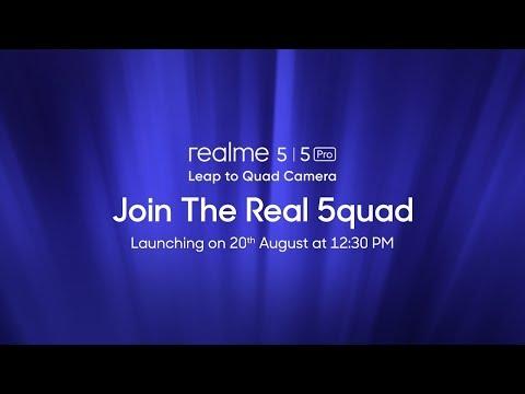 realme 5 series   Launch Event