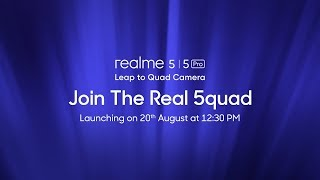 realme 5 series | Launch Event