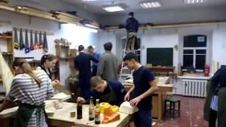 Урок труда в иркутской вальдорфской школе 1