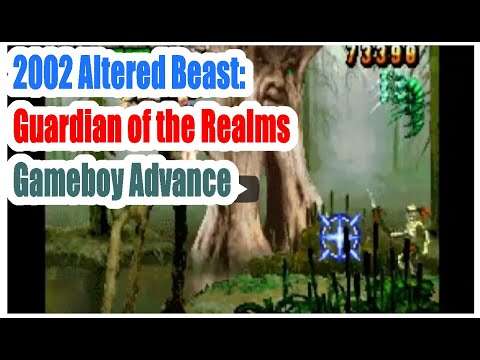 2002  Altered Beast: Guardian of the Realms (Gameboy Advance) Game Playthrough Retro Game